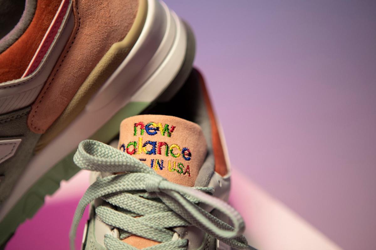 """New Balance 997 """"LOVE""""."""