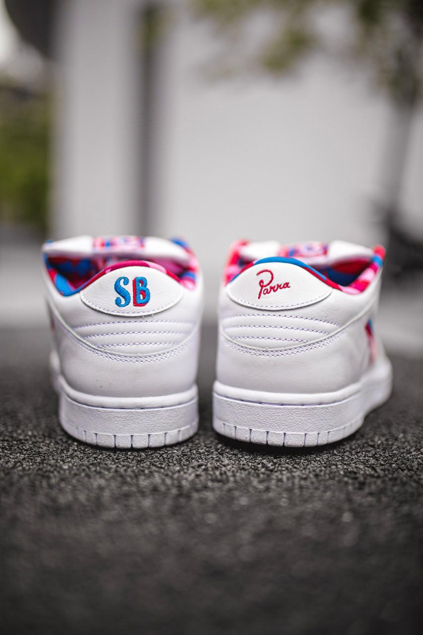 Regardons de plus près le Collaborative SB Dunk Low de Parra et Nike