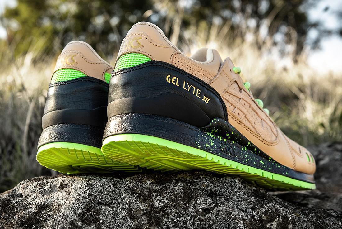 """Sneaker Freaker & ASICS sort une version Friends & Family GEL-LYTE III in """"Neurotoxic"""""""