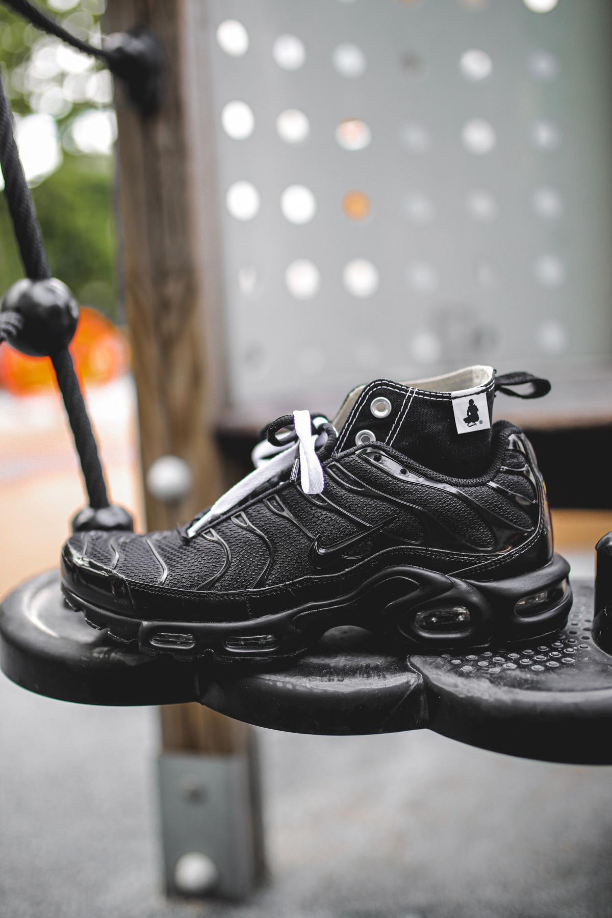 WWWESH STUDIO™ & Heightened Sense Nike Air Max Tn / Converse Chuck Taylor Hybrid