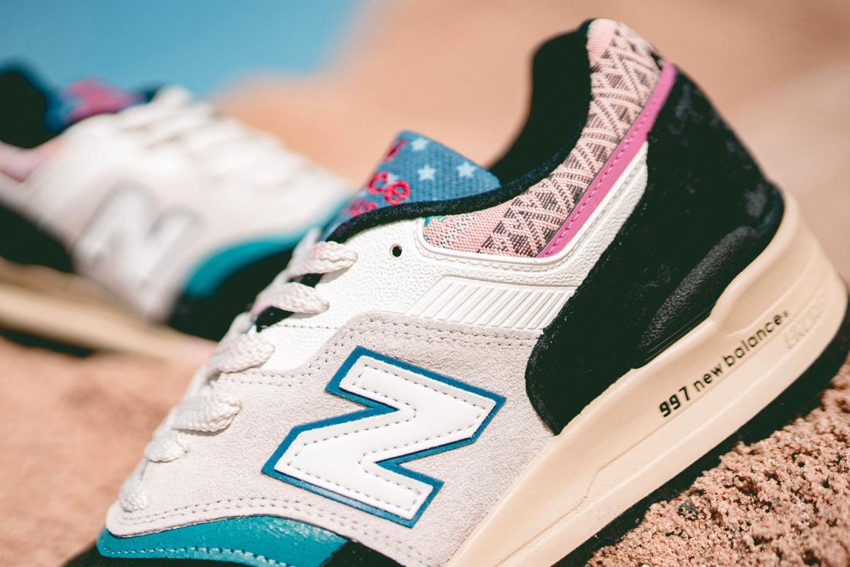 New Balance dévoile deux classiques de la sneakers imprégnés de motifs vifs