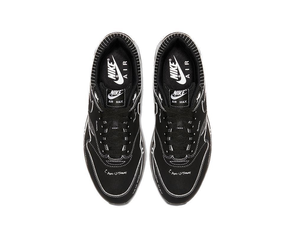 Nike Air Max 1 Tinker Schematic Black