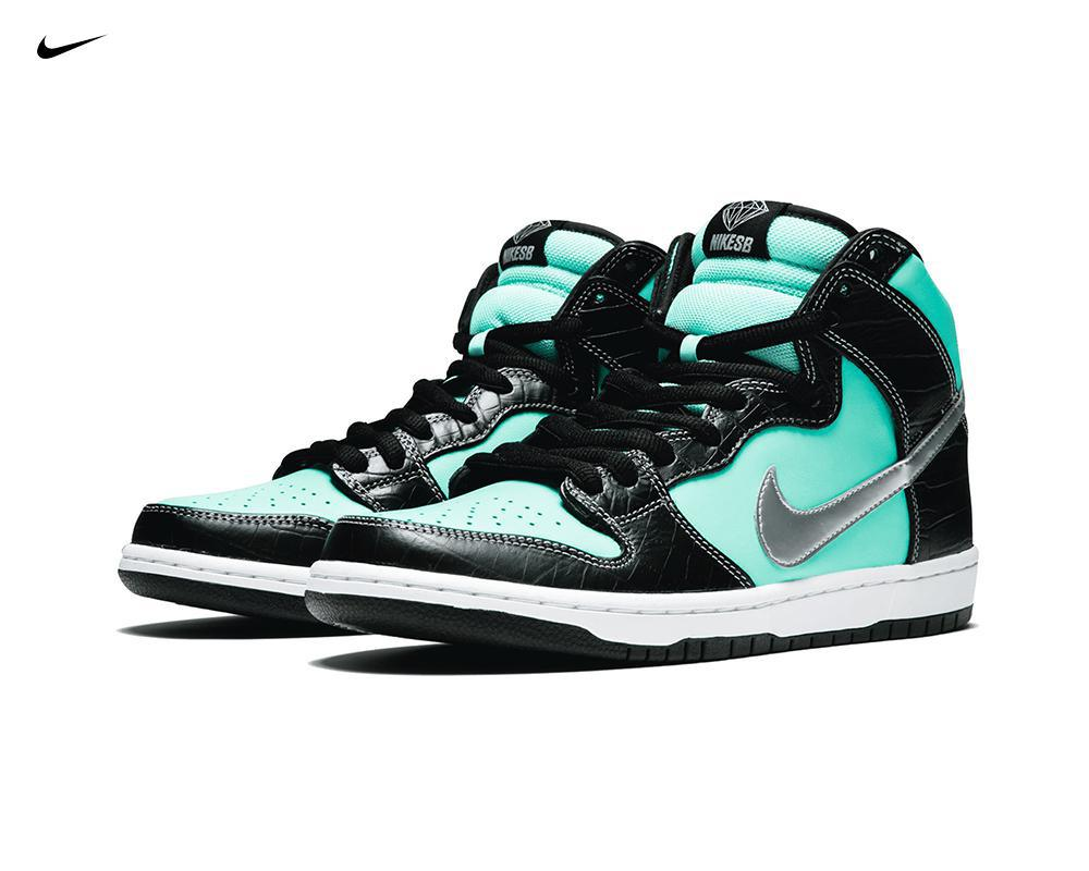 NIKE SB Dunk High x Diamond Supply Co. Tiffany
