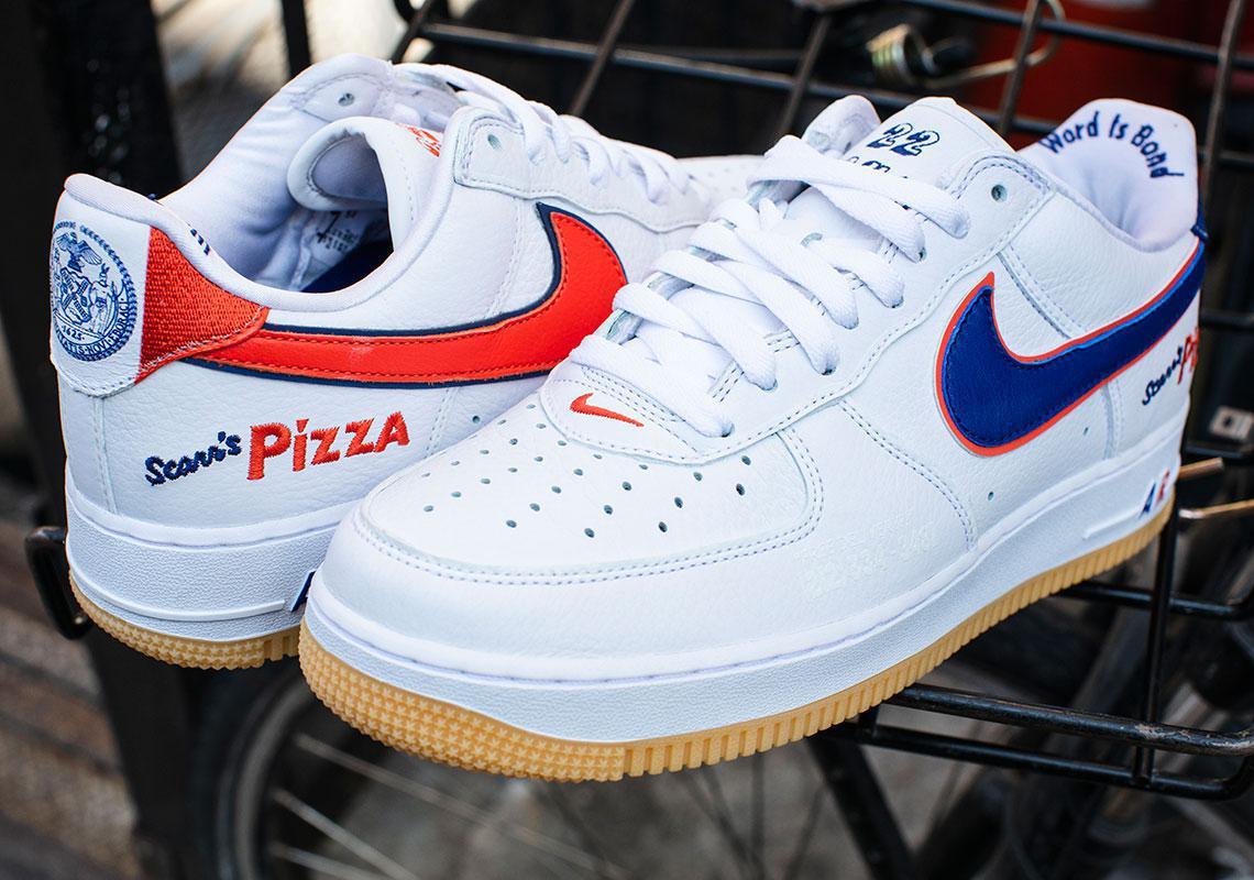 Ce magasin de pizzas de NYC a fait sa propre Air Force 1s