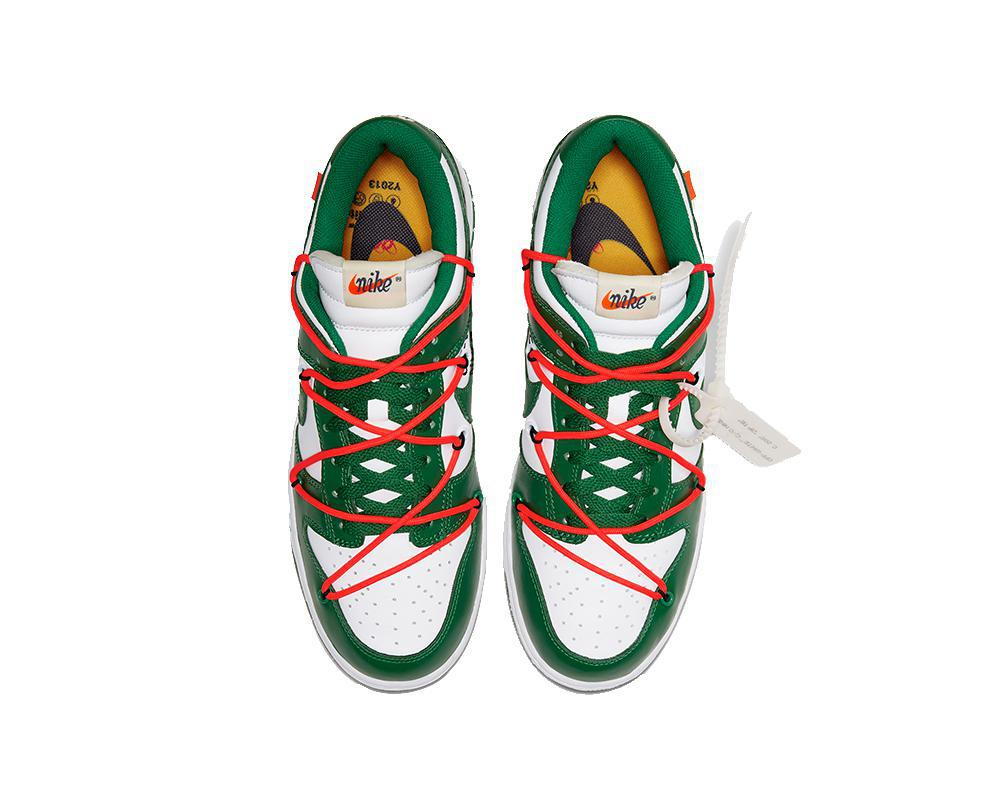 NIKE SB Dunk Low x Off-White Pine Green