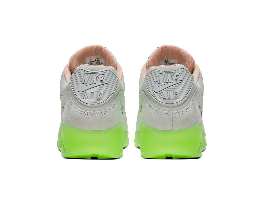 NIKE Air Max 90 Grey Electric Green