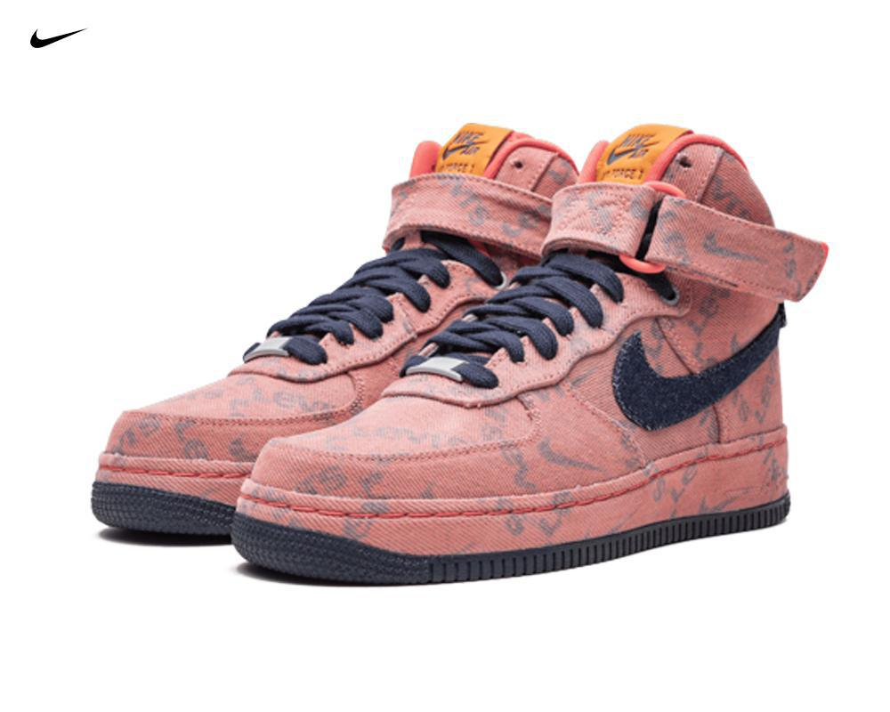NIKE Air Force 1 High x Levi's Exclusive Denim