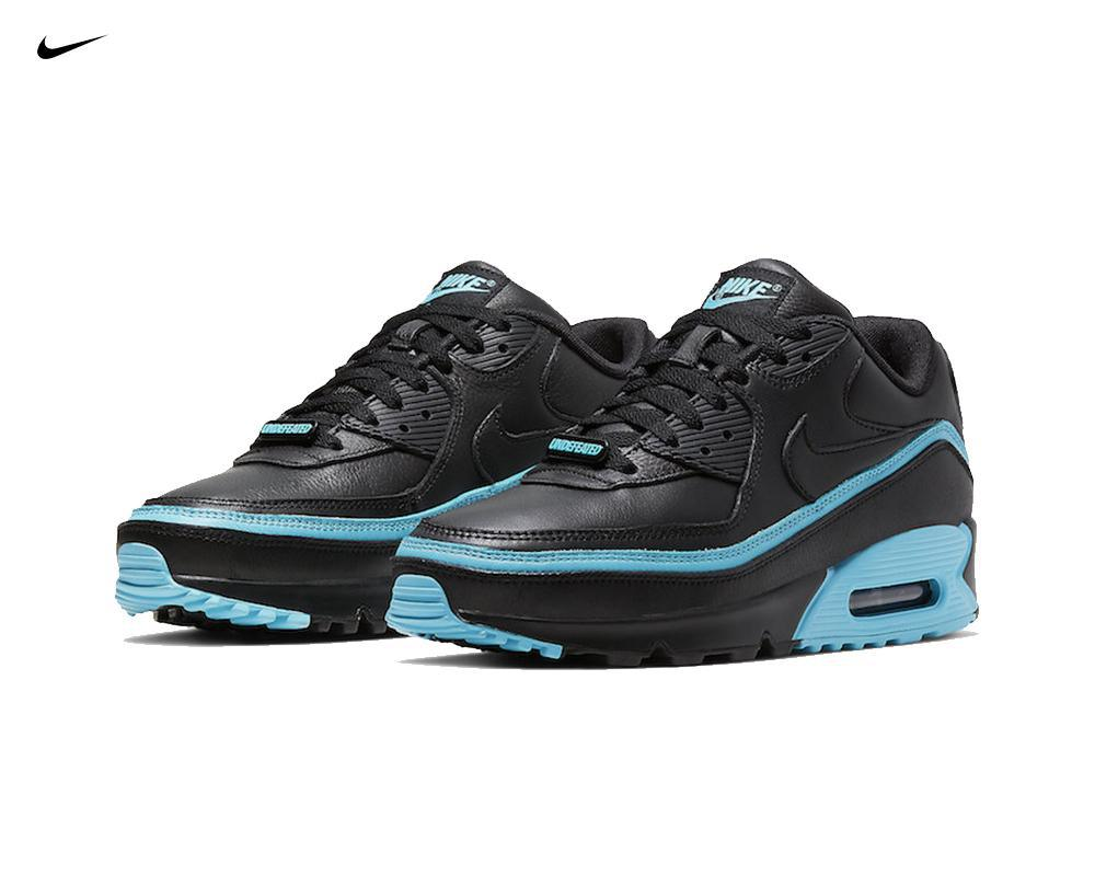 NIKE Air Max 90 x Undefeated Black Blue