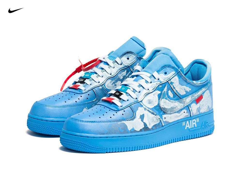 NIKE Air Force 1 x Virgil Abloh x MCA Chicago x Cassius Hirst
