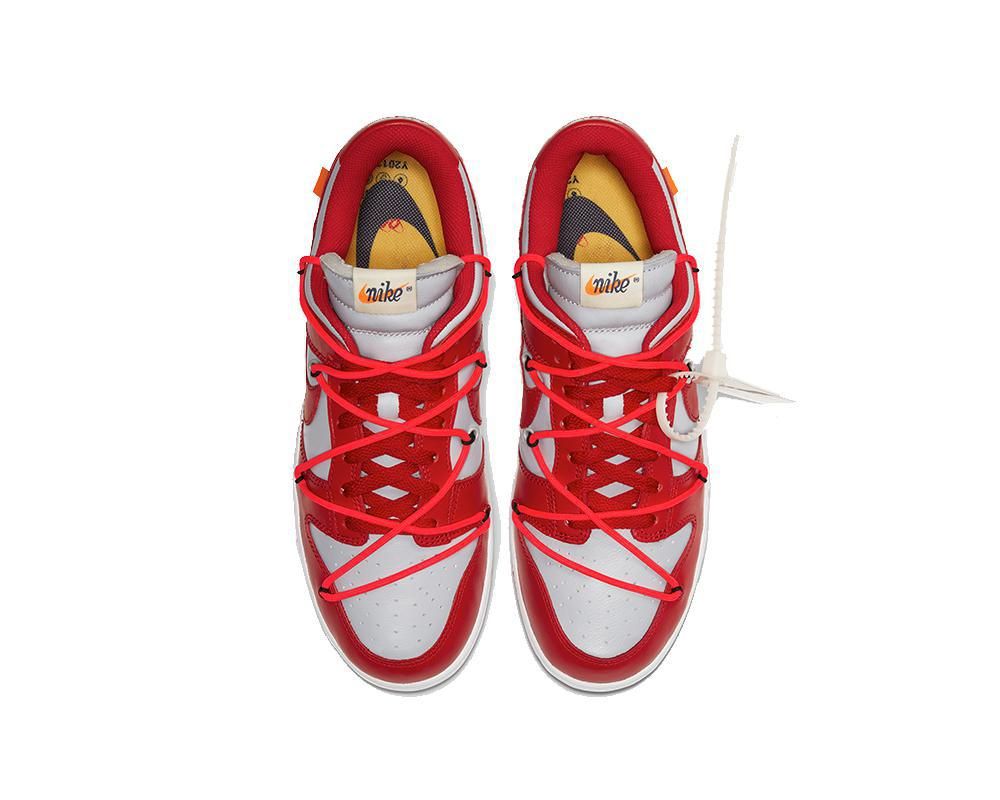 NIKE SB Dunk Low x Off-White Red