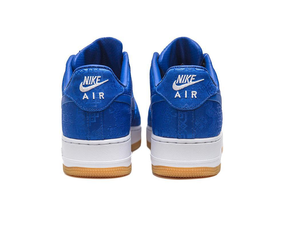 NIKE Air Force 1 x Clot Blue Silk