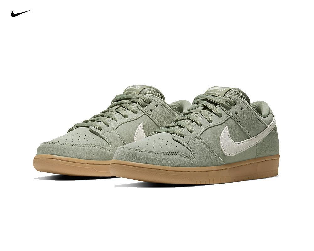 NIKE SB Dunk Low Island Green