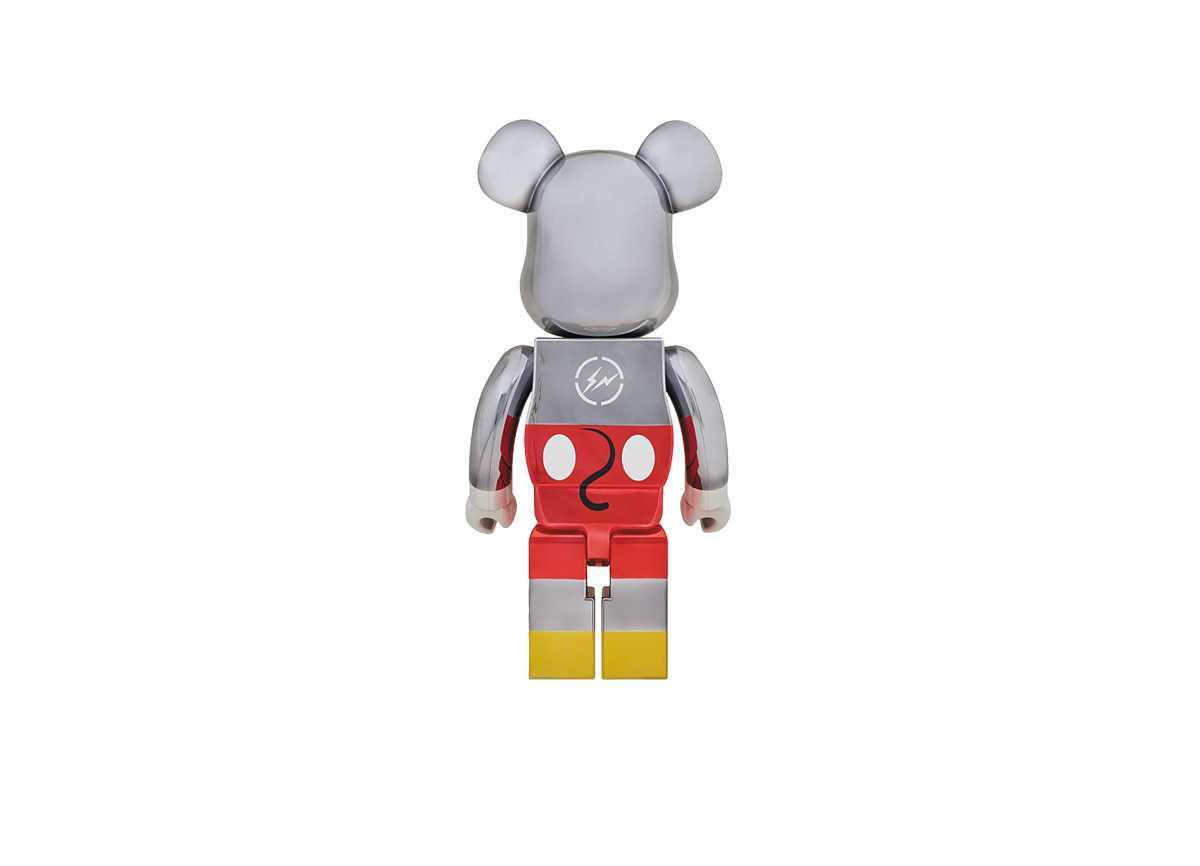 BEARBRICK x Fragment Design Mickey Mouse 1000%