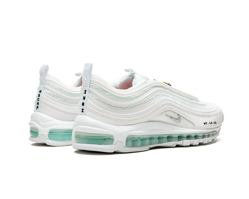 NIKE Air Max 97 MSCHF x INRI Jesus Shoes