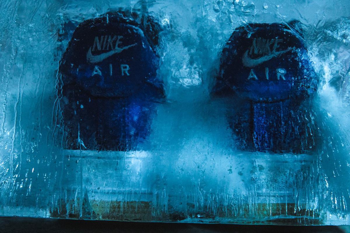 """CLOT & Nike annoncent la date de sortie officielle de la Air Force 1 """"Royale University Blue Silk""""."""