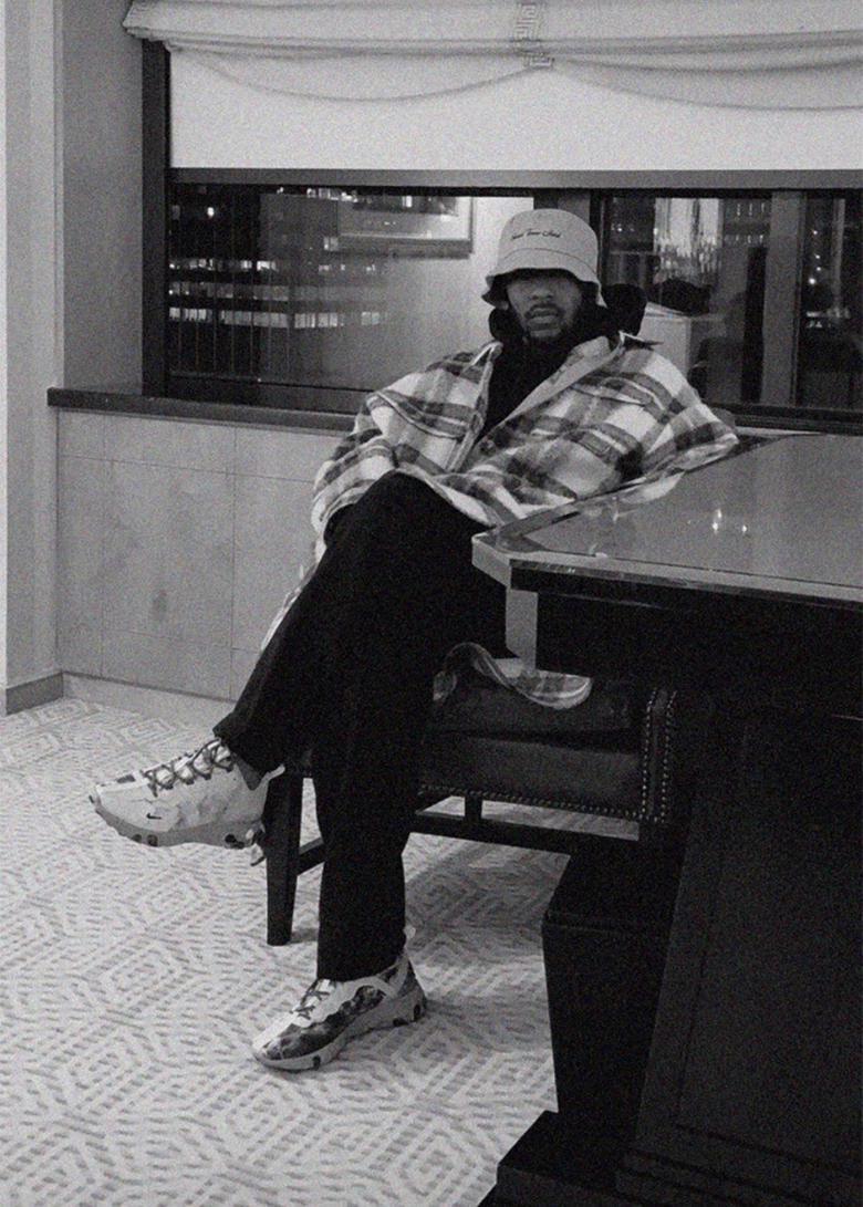 Kendrick Lamar x Nike React Element 55 Collaboration ?