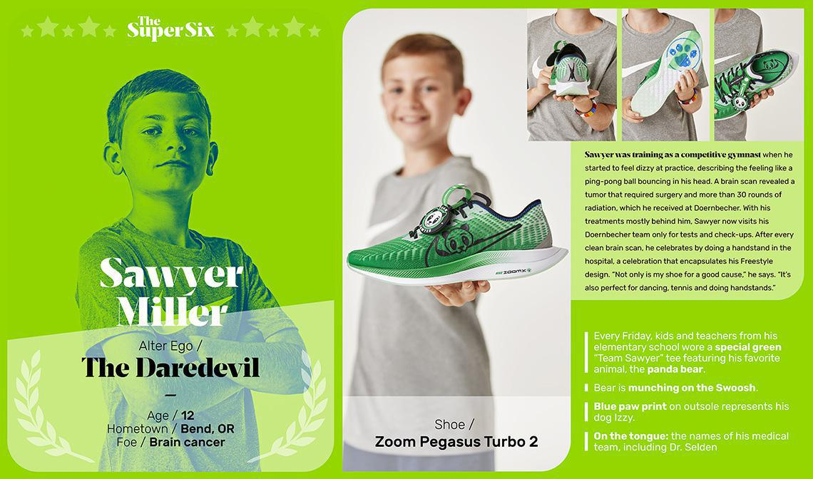 Toute la collection Doernbecher Freestyle 2019 sort le 7 décembre.