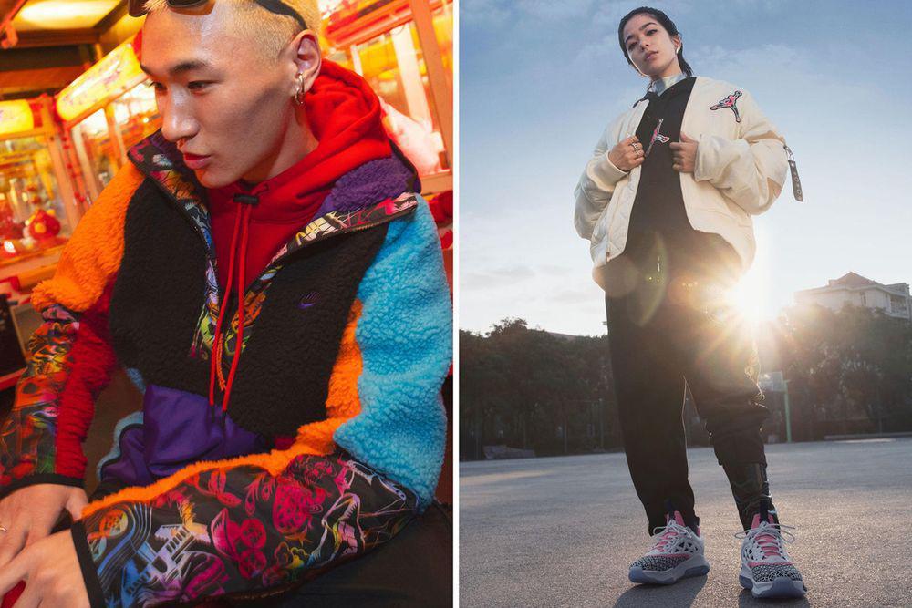 """La collection """"Année du Rat"""" de Nike célèbre le nouvel an chinois avec des motifs audacieux"""