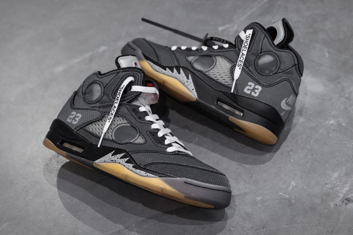 Regardez de plus près la Off-White™ x Air Jordan 5
