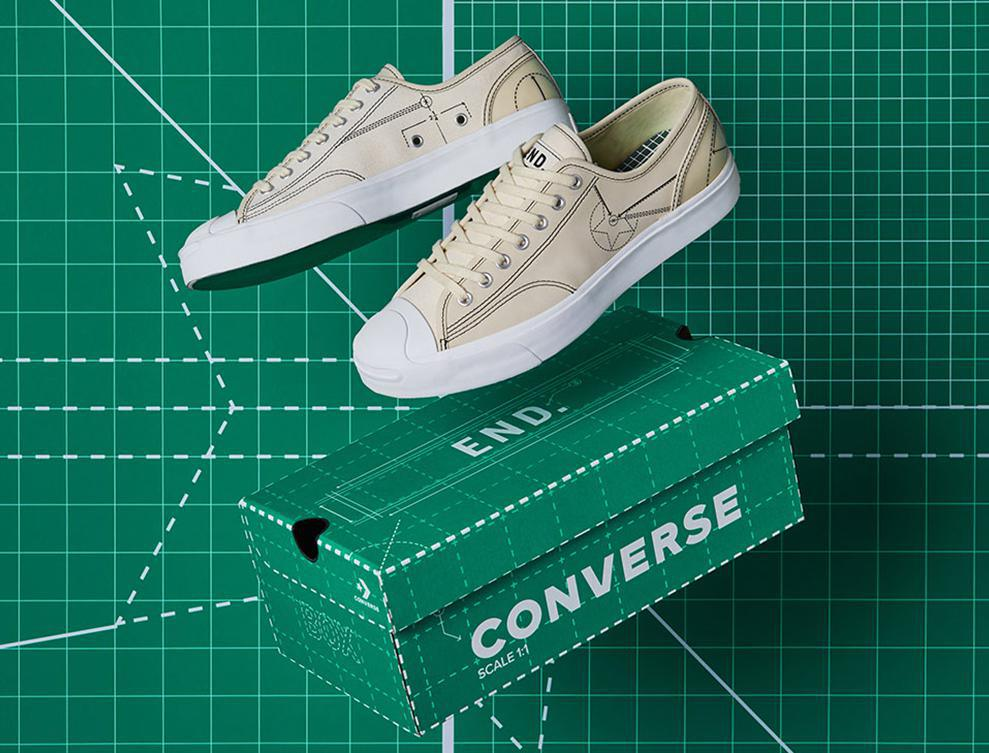 "END. x CONVERSE ""BLUEPRINT"" PACK"