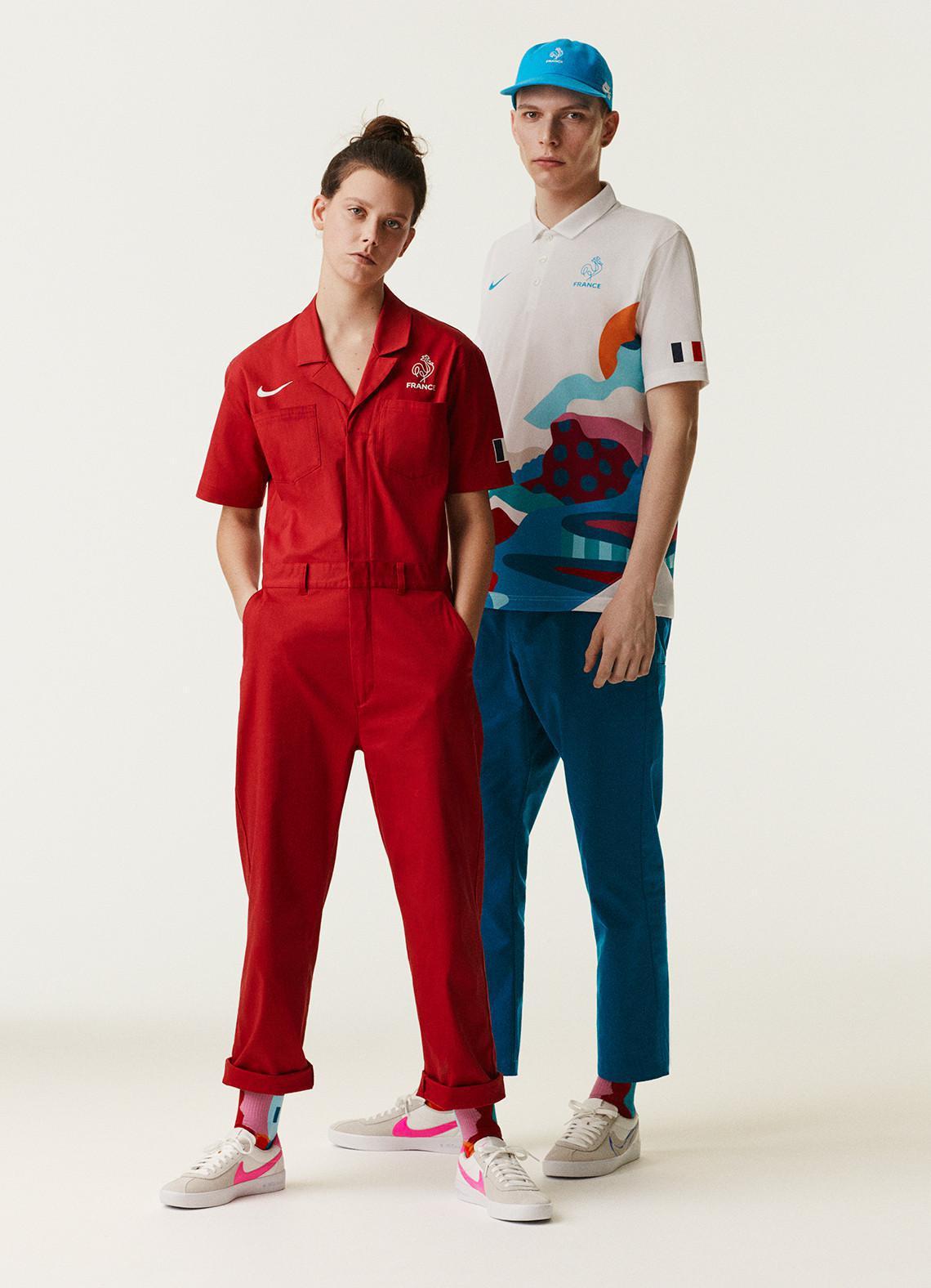 Parra fait équipe avec Nike SB pour concevoir les premiers uniformes de skateboard d'équipe pour les Jeux Olympiques de 2020