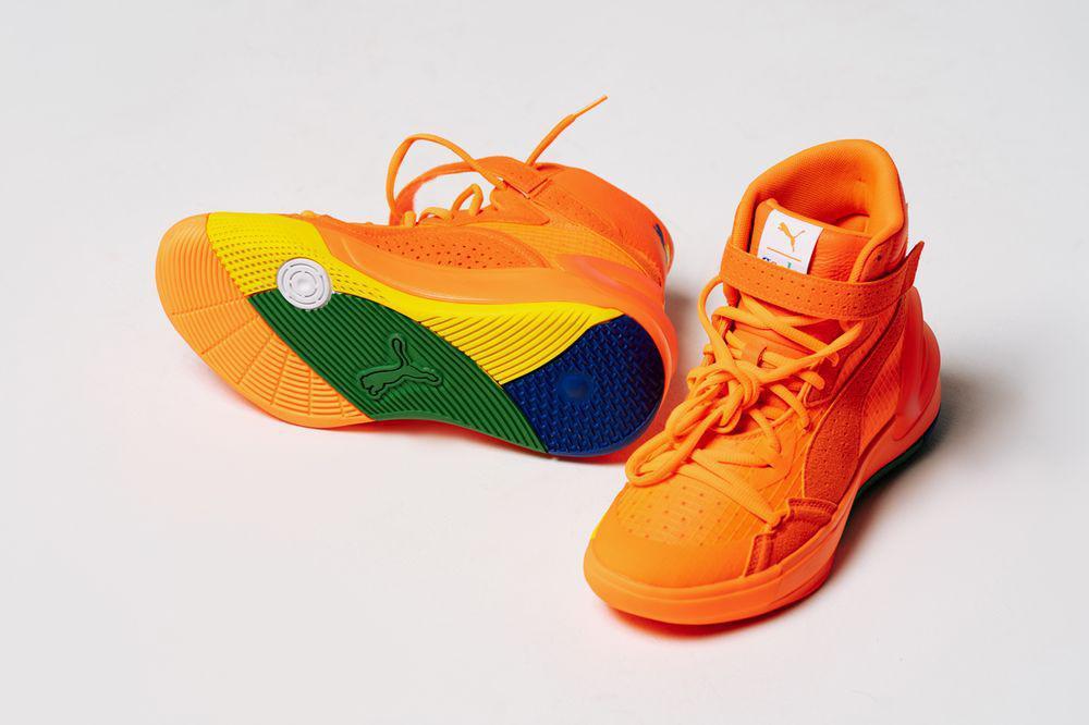 Collection inspirée du basket-ball Fashion Geek et PUMA