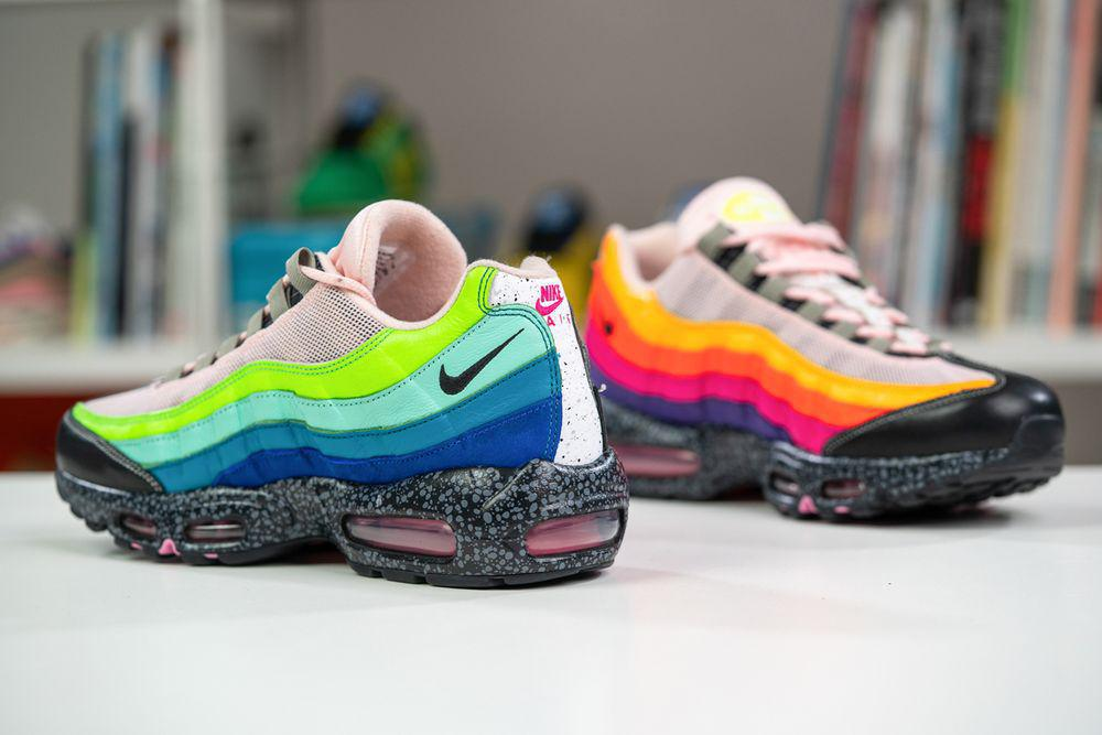 """SIZE ? x Nike Air Max 95 """"20 pour 20"""" Inspiré par des exclusivités passées"""