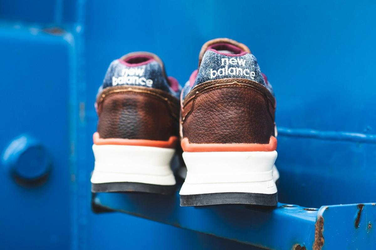 "New Balance 997 ""Elevated Basics"" utilise un denim robuste et un cuir souple"
