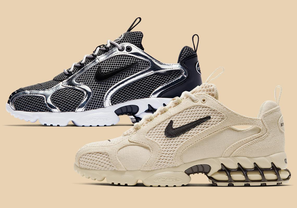 Images officielles Stussy x Nike Caged Zoom Spiridon