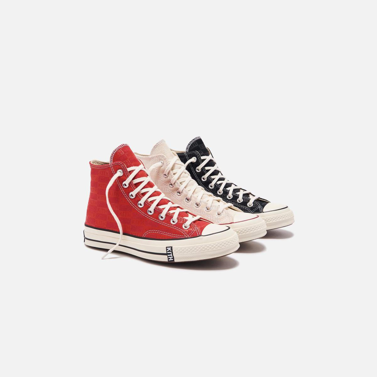 KITH X CONVERSE CHUCK TAYLOR 1970 RED