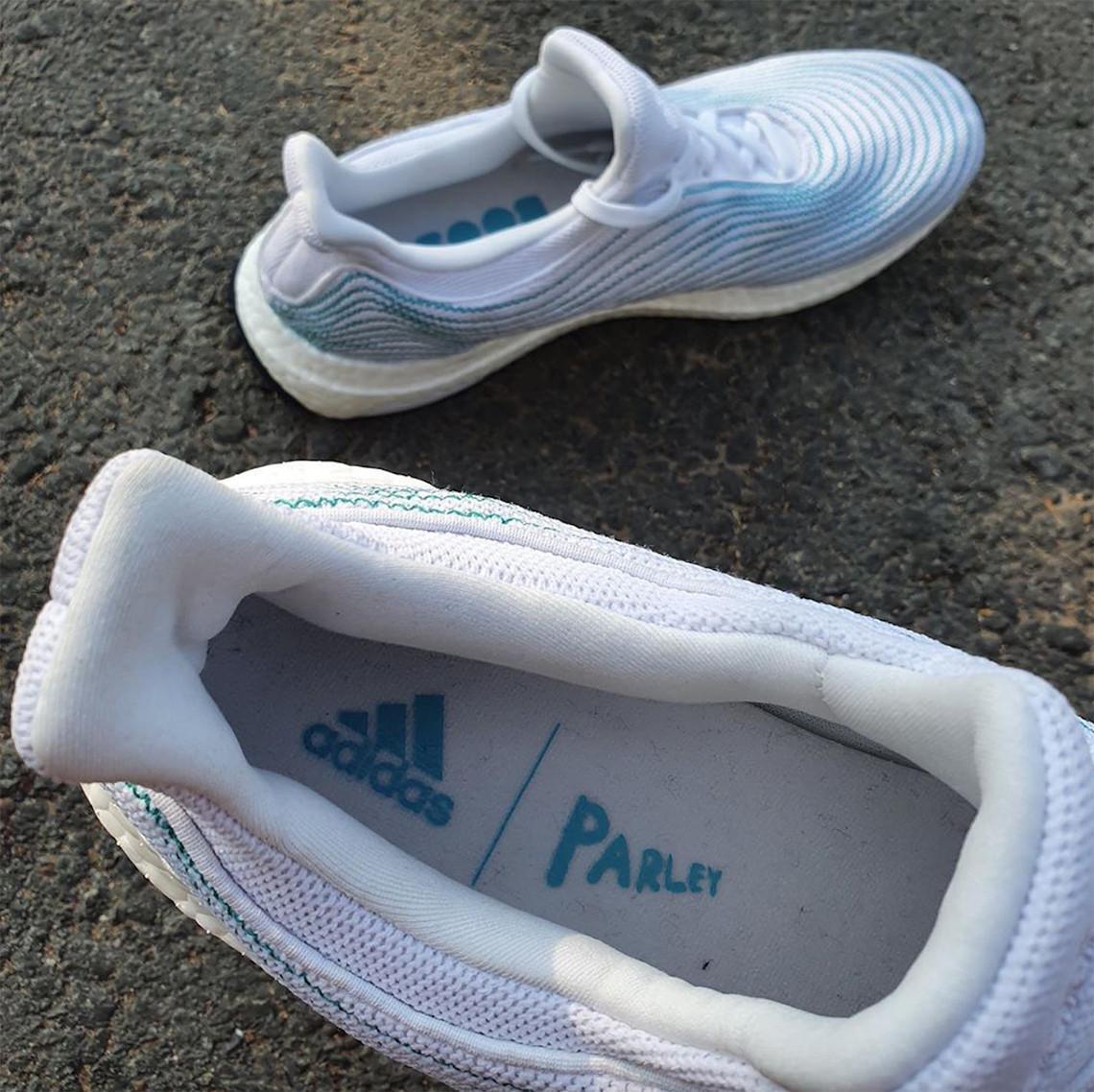 Les fibres Parley couvrent cette prochaine adidas Ultra Boost sans cage