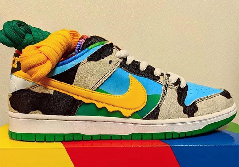 "Ben & Jerry's et Nike SB vont sortir un ""Chunky Dunky"""