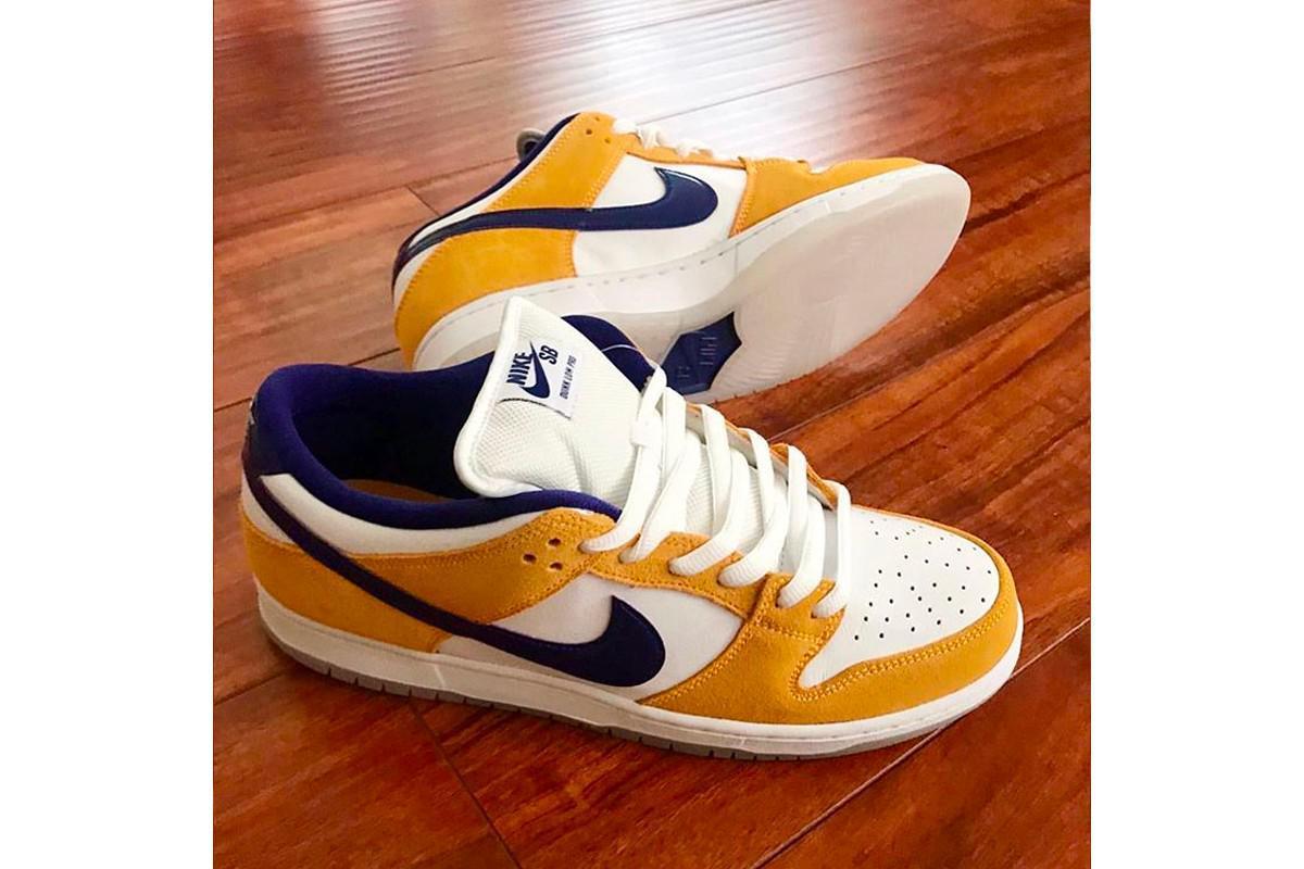 "Le Nike SB Dunk Low ""Laser Orange"" arrive en mai"