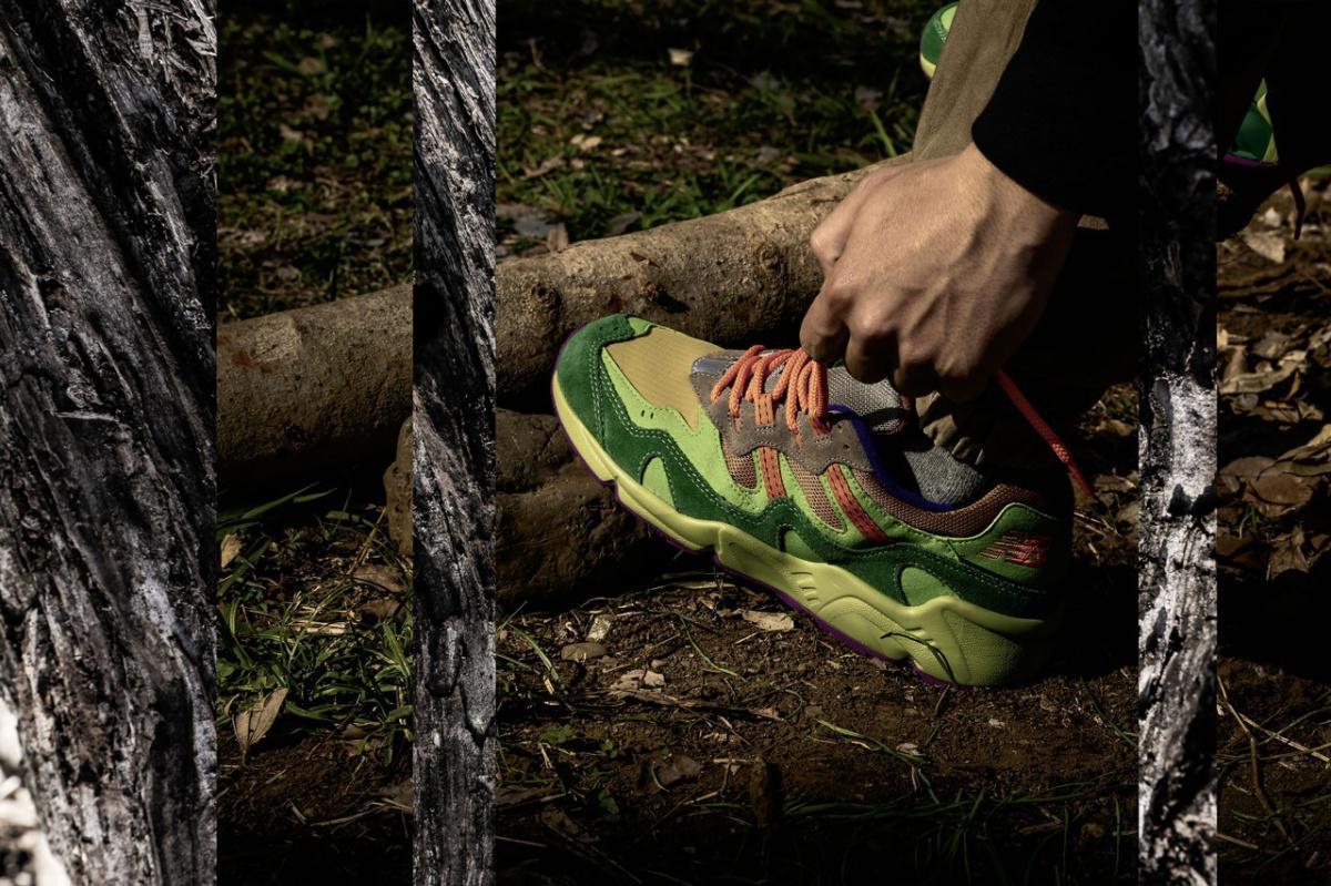 atmos rejoint New Balance pour la basket ML850 inspirée du camping