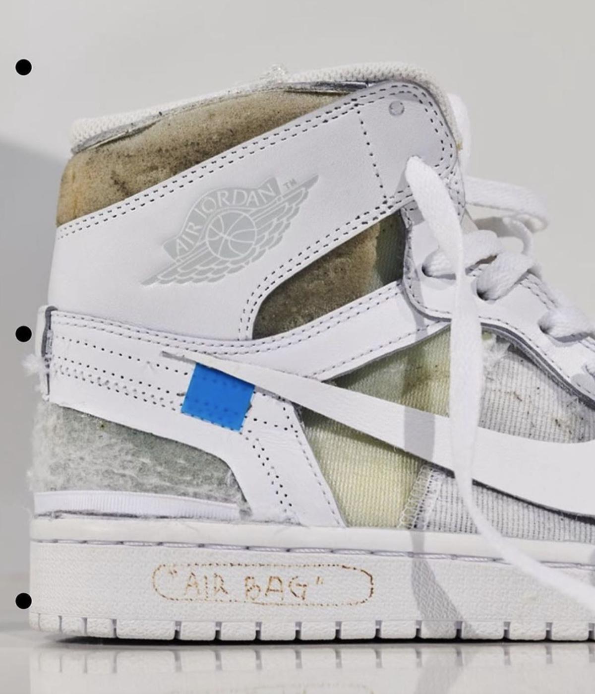 Virgil Abloh partage le tout premier échantillon-White™ x Nike Air Jordan 1