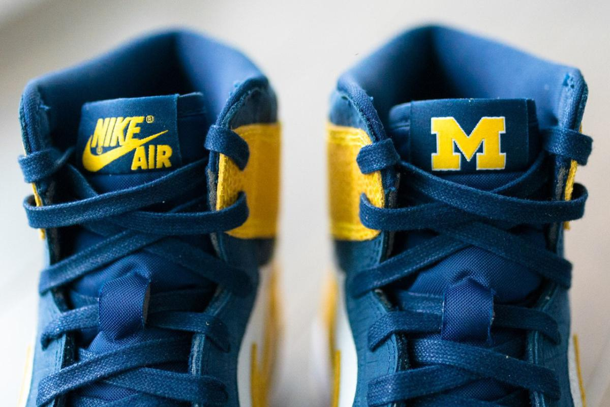 Les Wolverines du Michigan reçoivent une exclusivité Air Jordan 1 PE