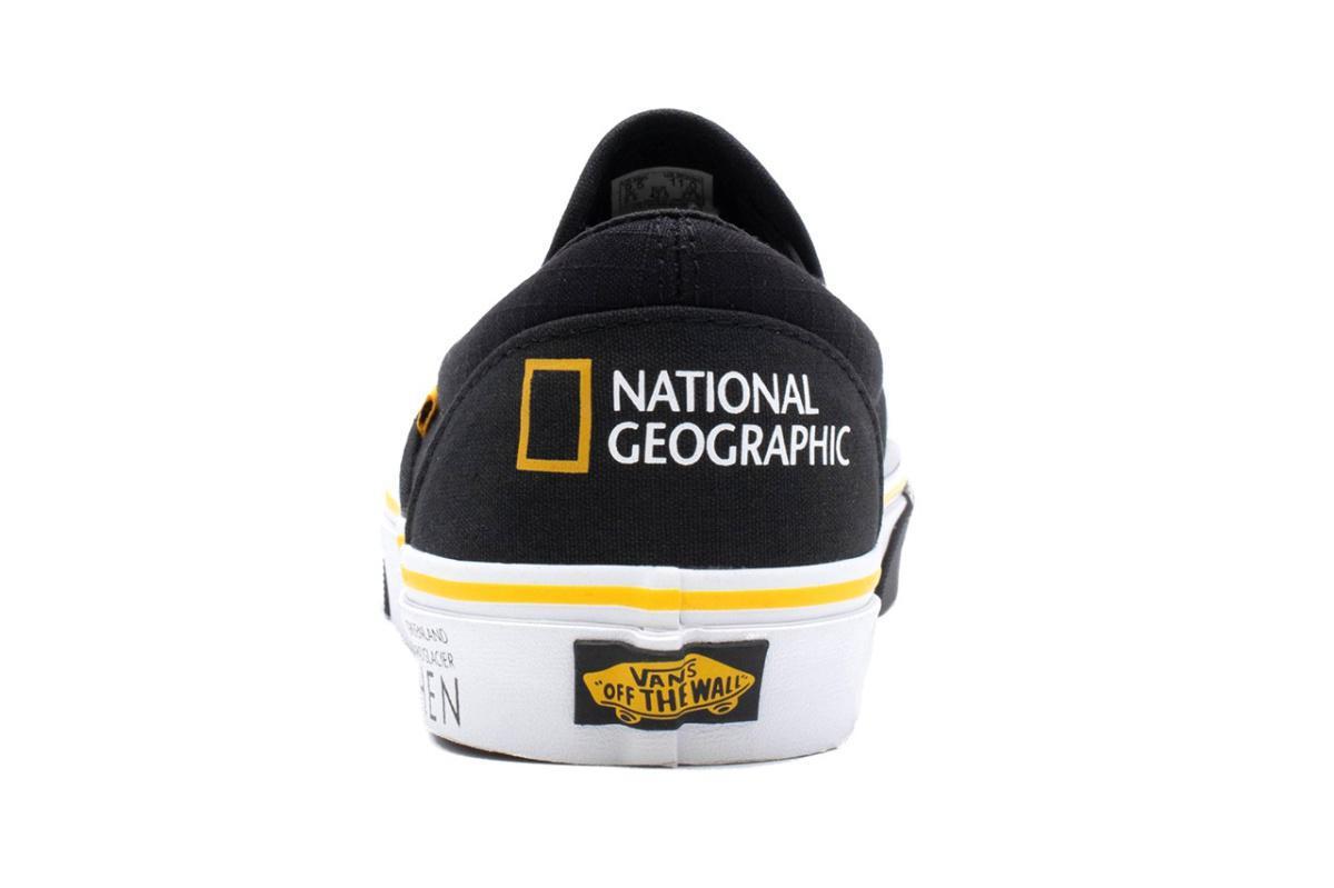 National Geographic met en valeur les Vans iconiques avec la nature, la faune et plus encore