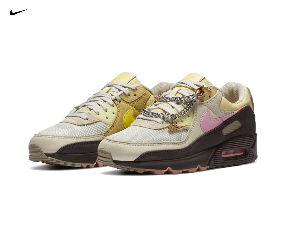 NIKE Air Max 90 Cuban Link Velvet Brown