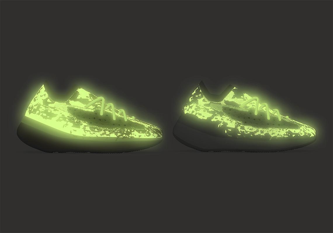 """Yeezy Boost 380 """"Calcite Glow"""" et """"Hylte Glow"""""""