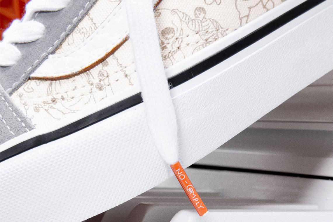 No-Comply Skateshop et Vans se réunissent pour la dernière collection Daniel Johnston