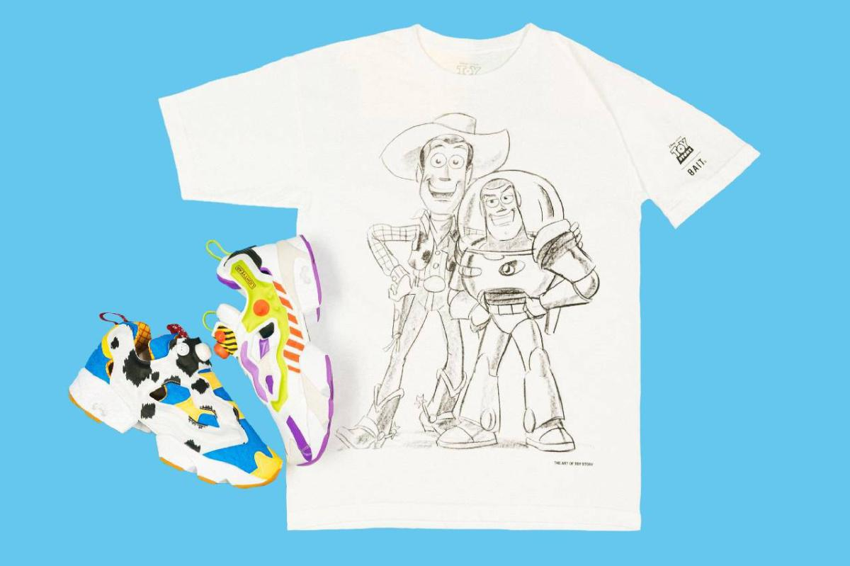 BAIT et Reebok Toy Story