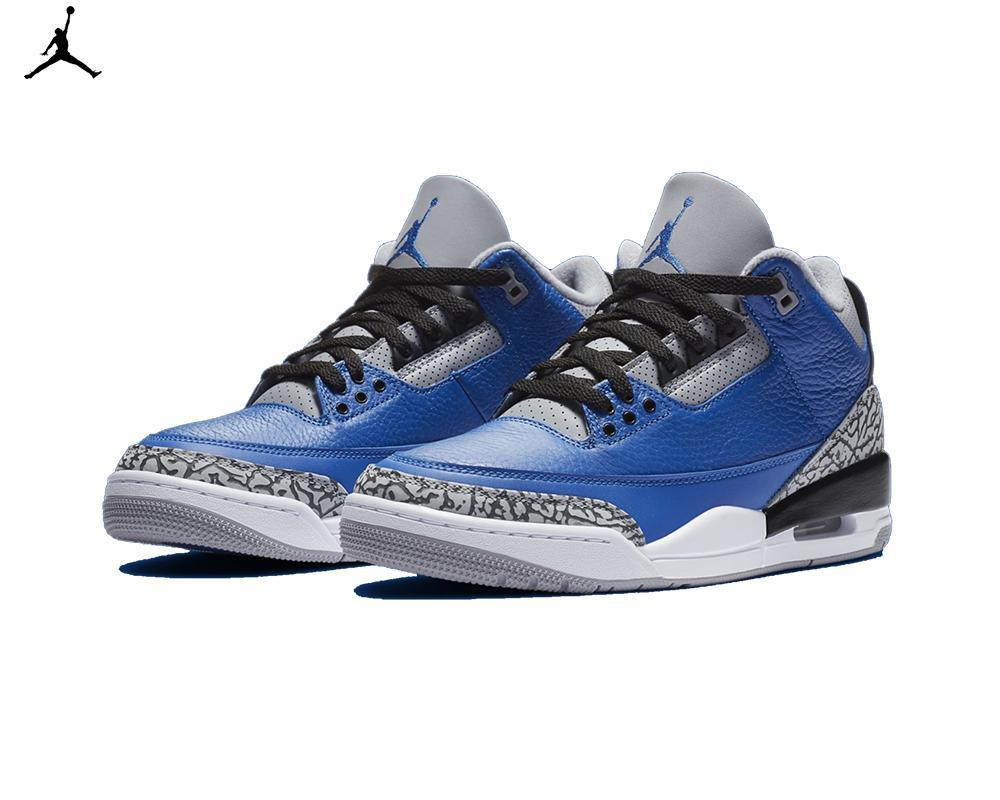 Air JORDAN III Retro Varsity Royal
