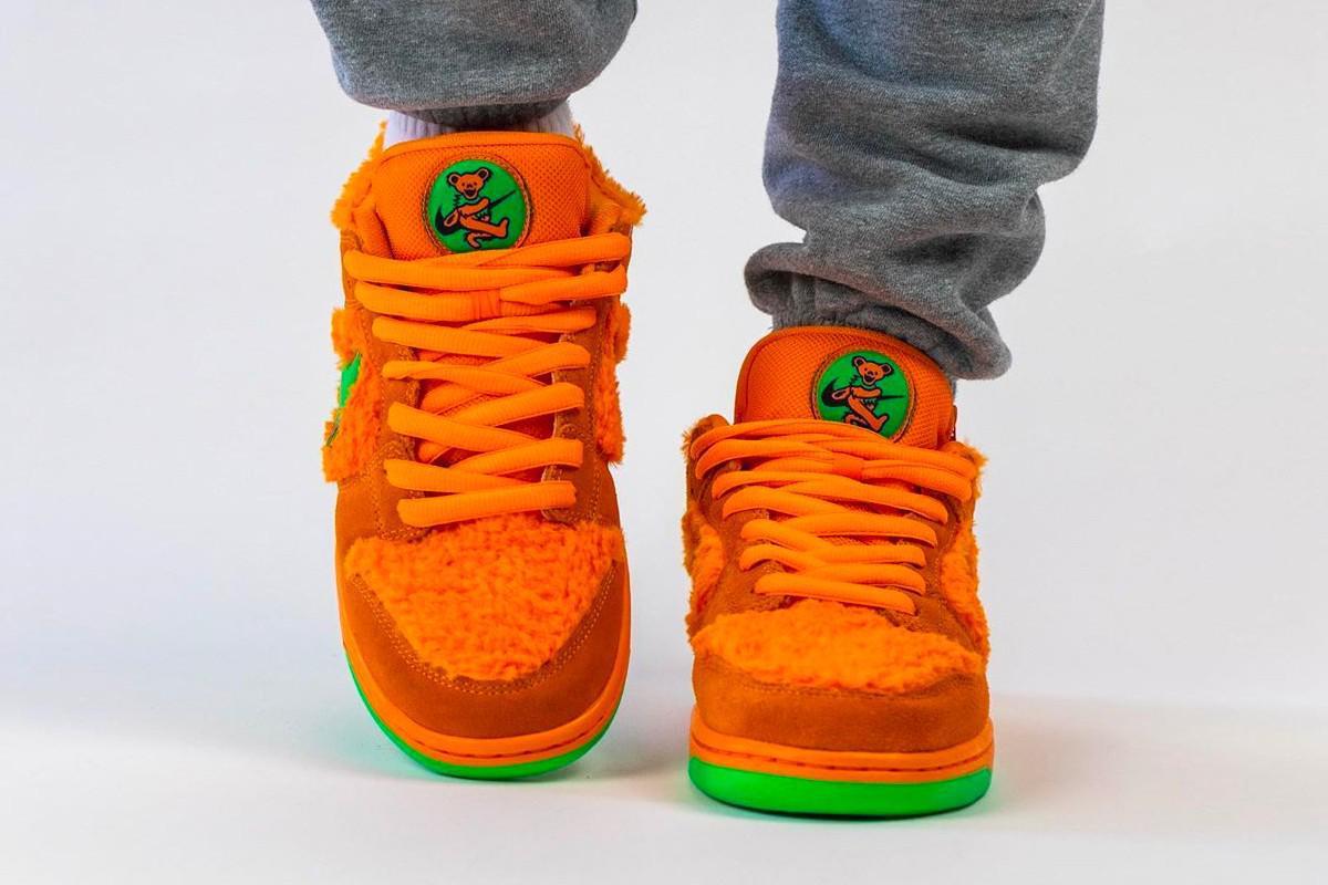 Grateful Dead x Nike SB Dunk Low Orange Bear