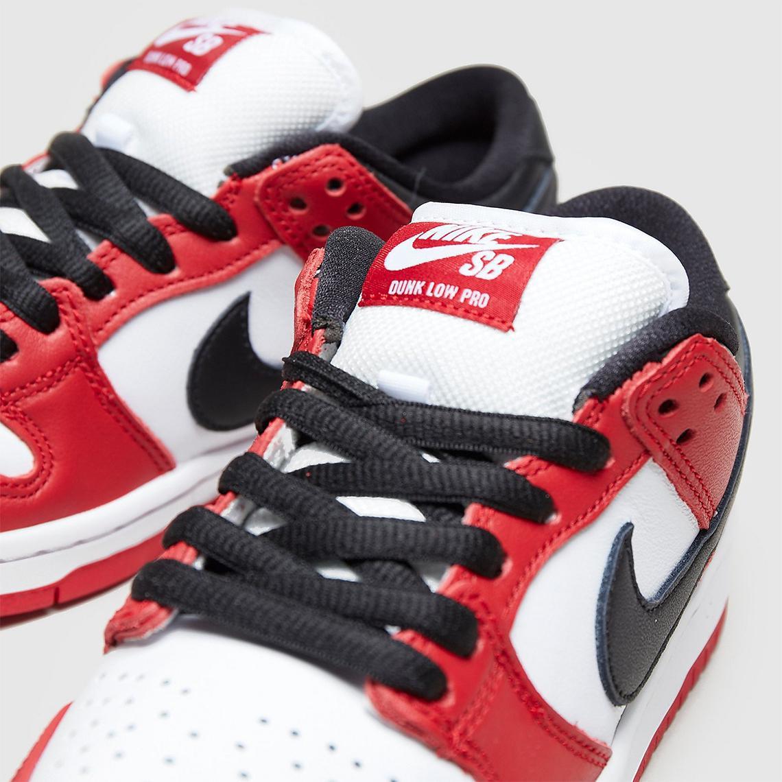 """Nike SB Dunk Low poursuit la série J-Pack avec """"Chicago"""""""