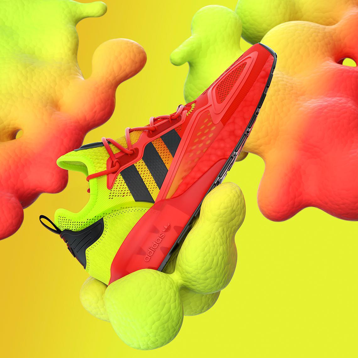 Adidas ZX 2K Boost revient avec deux autres Colorways en août