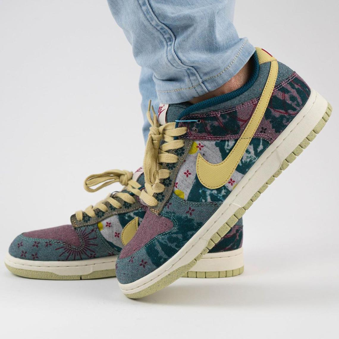 "Nike Dunk Low SP ""Lemon Wash"""