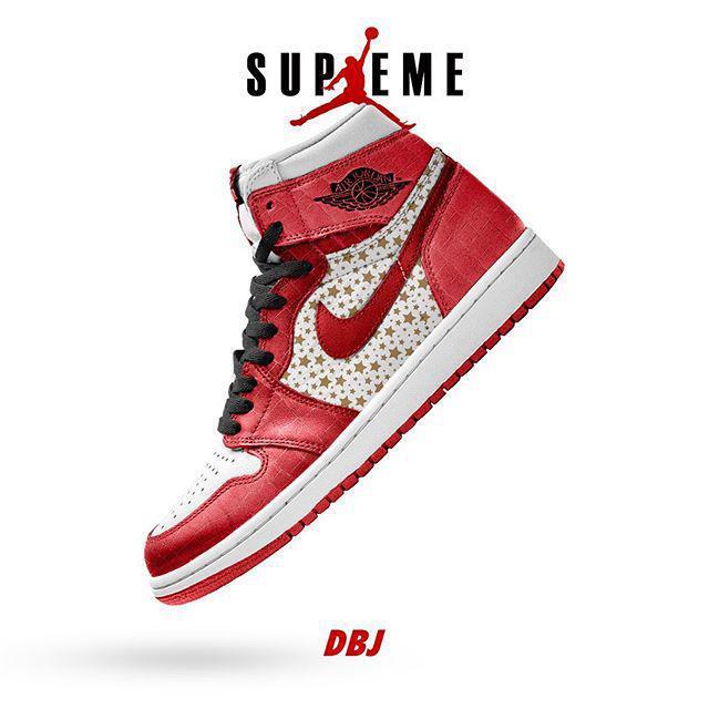 Supreme x Air Jordan1 pour 2021