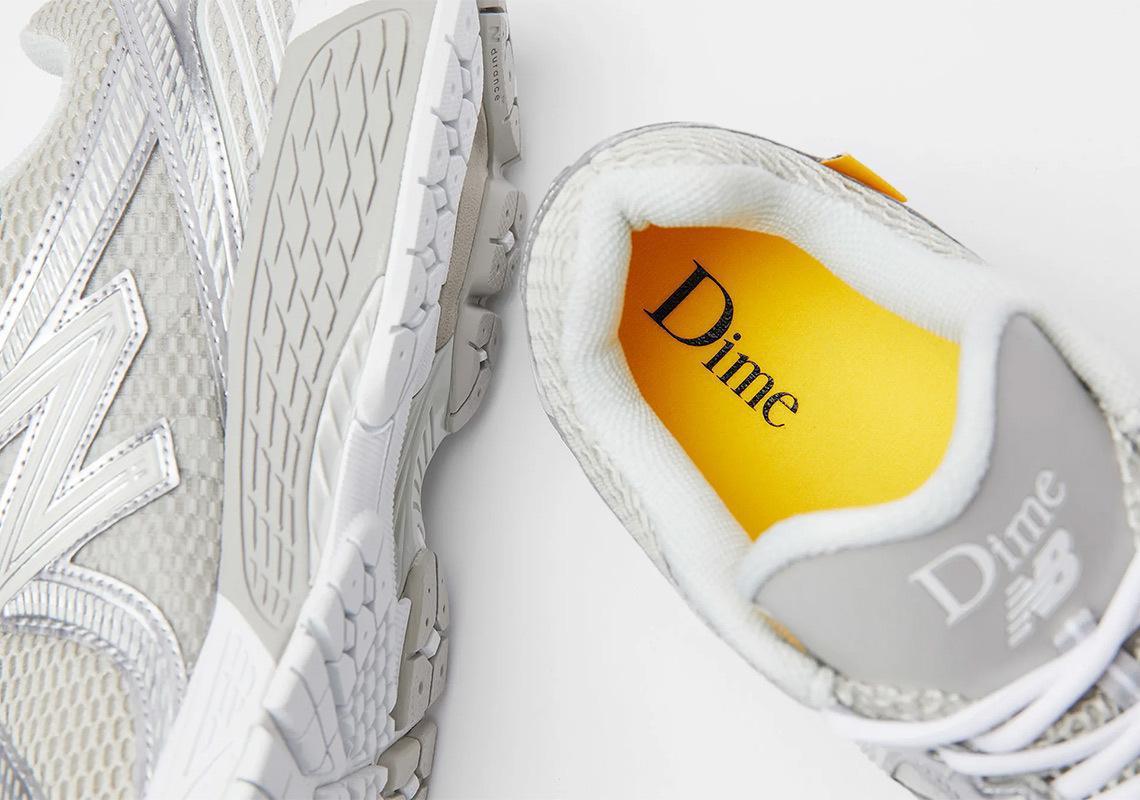 La première collaboration de Dime avec New Balance se concentre sur la version 860 v2