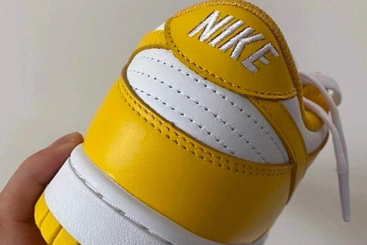 La Nike dunk Low dans le Colorway Yellow