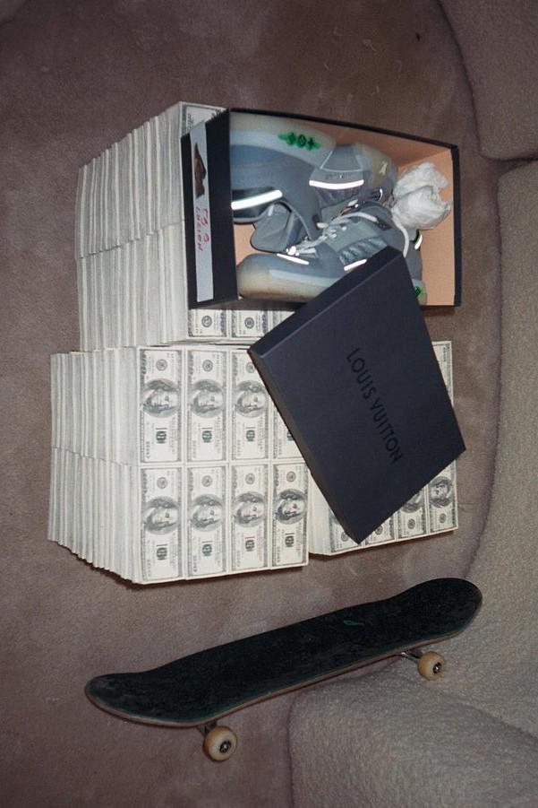 Lucien Clarke dévoile une chaussure de skate Louis Vuitton